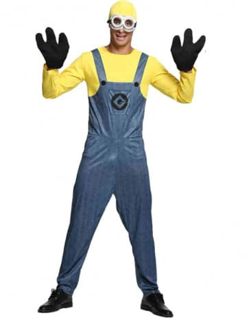 Minions Cosplay Costume For Men Halloween Costume