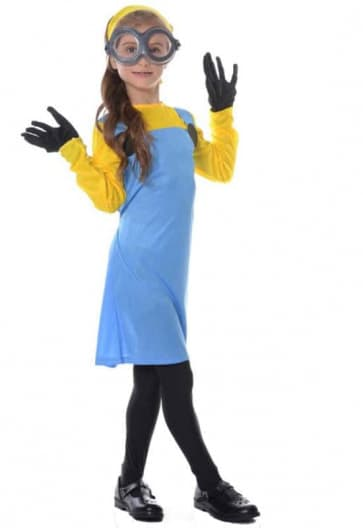 Minions Cosplay Costume For Girls Halloween Costume