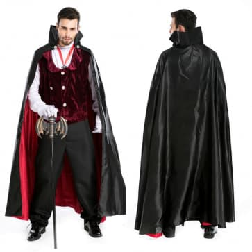 Elegant Vampire Complete Halloween Costume
