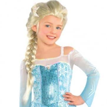 Elsa Hair Wig For Girls