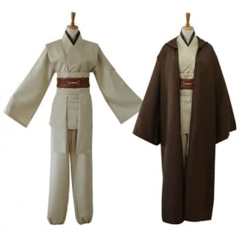 Obi Wan Anakin Star Wars Jedi Cosplay Costume For Adults Halloween Costume