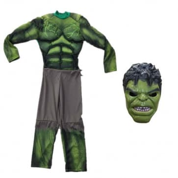 Kids Hulk Cosplay Costume