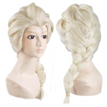 Elsa Hair Wig For Adults