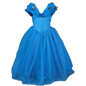 Cinderella Butterfly Dress For Girls