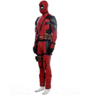The Avengers Deadpool High Quality Cosplay Set Costume For Adults Halloween Costume