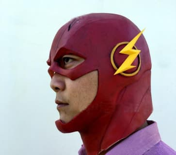 The Flash Official Realistic Face Mask Cosplay