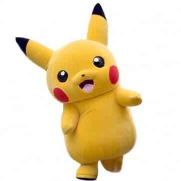 Giant Pikachu Cosplay Halloween Costume