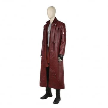 Star Lord Long Jacket Style Guardians of the Galaxy Cosplay Costume