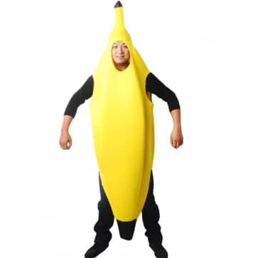Halloween Banana Costume Adult & Kids Size