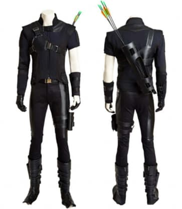 Clint Barton Hawkeye Cosplay Costume