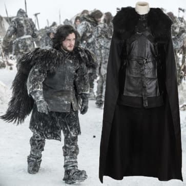 Jon Snow Game of Thrones Complete Cosplay Costume