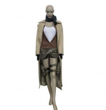 Alice Resident Evil Extinction Cosplay Costume