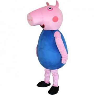 Giant George Peppa Pig Mascot Costume