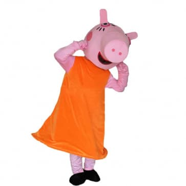 Giant Mummy Mommy Pig Peppa Pig Mascot Costume