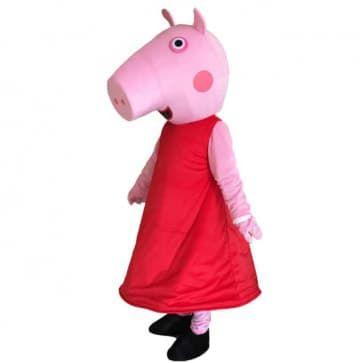Giant Peppa Pig Mascot Costume