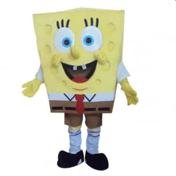Giant SpongeBob Mascot Costume
