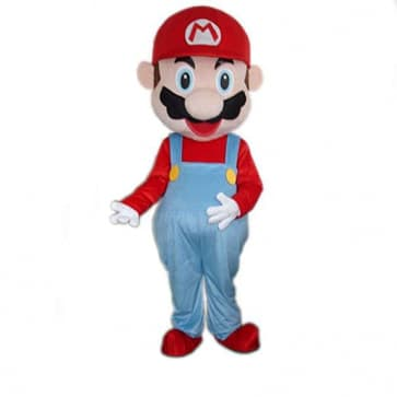 Giant Mario Mascot Costume