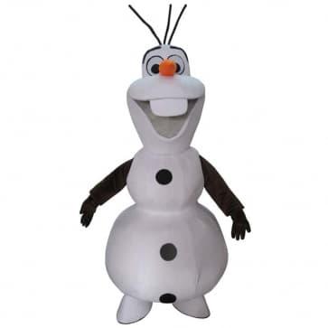 Giant Frozen Olaf Snowman Mascot Costume