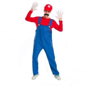 Super Mario Luigi Mario Cosplay Costume For Adults Halloween Costume