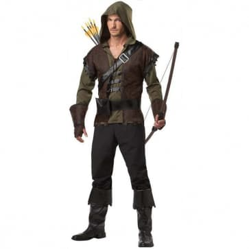 Robin Hood Cosplay Costume For Adults Halloween Costume