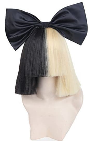 Sia Hair Wig With Bow