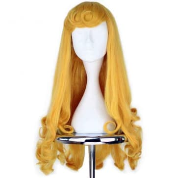 Sleeping Beauty Hair Wig Cosplay