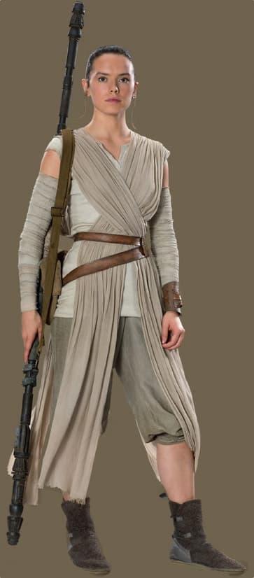 Rey Official Star Wars Complete Cosplay Halloween Costume