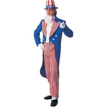 Uncle Sam Complete Cosplay Costume