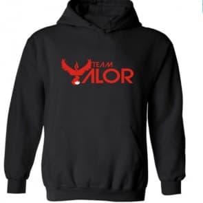 Pokemon Go Red Team Valor Hooded Sweatshirt