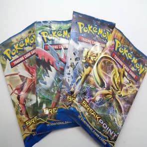 Pokemon XY9 BREAKpoint 5-Pack Bundle