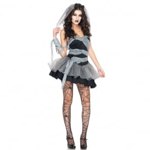Halloween Ghost Bride Women's Costume