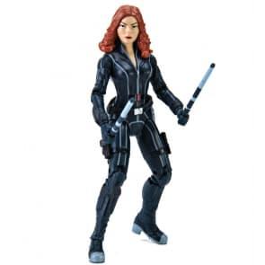 34cm Collectible Black Widow Action Figure