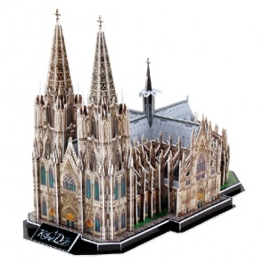 3D Model Puzzle Cubic Fun-Germany Cologne Cathedral 179 pcs