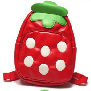Kids Preschool Kindergarten Cute Backpack Rucksack Strawberry