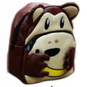 Kids Preschool Kindergarten Cute Backpack Rucksack Monkey