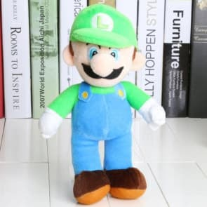 Giant Stuffed Luigi Plush Toy 40cm 16 inches