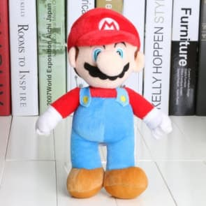 Giant Stuffed Mario Plush Toy 40cm 16 inches