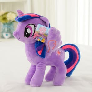 My Little Pony Twilight Sparkle 16'' Large Plush Doll Toy