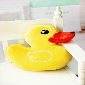 Giant Cute Yellow Duck Pillow (42 cm x 38 cm) (1.4 ft x 1.25 ft)