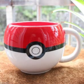 Pokemon Pokeball Ceramic Coffee Mug