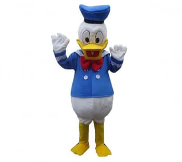 Giant Donald Duck Mascot Costume
