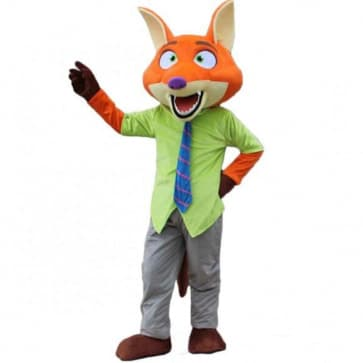 Giant Nick Wilde Zootopia Cosplay Halloween Costume Mascot