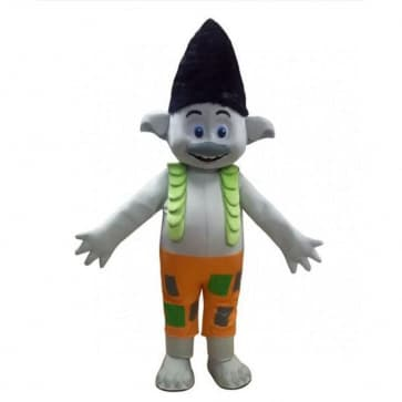 Giant Branch Trolls Mascot Costume