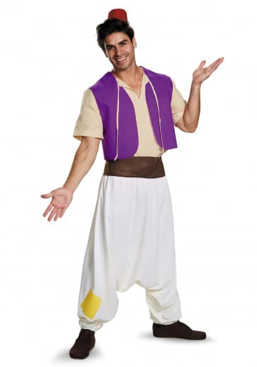 Disney Alladin Cosplay Outfit For Children and Adults Halloween Costume